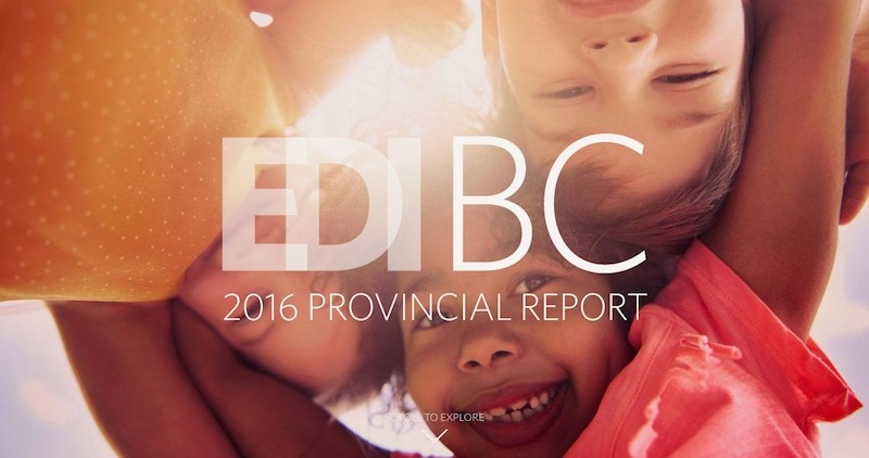 Preview of EDI BC 2016 Provincial Report